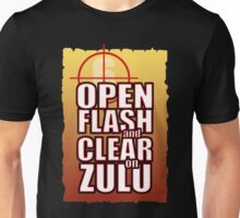 Open Flash and Clear Unisex T-Shirt