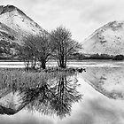 Brothers Water Reflection - Lake District, Cumbria, UK by Simon Lupton