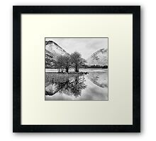 Brothers Water Reflection - Lake District, Cumbria, UK Framed Print