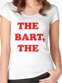 The Bart, The Women's Fitted Scoop T-Shirt