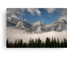 Chill In The Air Canvas Print