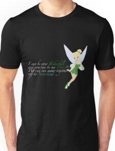 Tinkerbell. For dark colours. Unisex T-Shirt