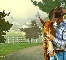 Horse Whisperer by artstoreroom