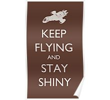 Stay Shiny Poster