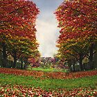 Colours Of A Park In Autumn  by WOBBLYMOL
