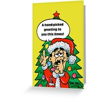 Hand picked Merry Christmas Greeting Card
