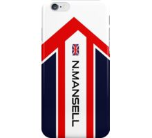 N.Mansell  iPhone Case/Skin