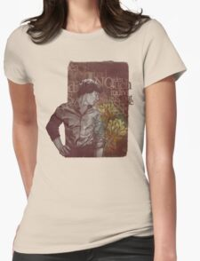 Outside The Stories Womens Fitted T-Shirt