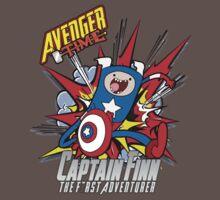 Captain Finn the First Adventurer Baby Tee