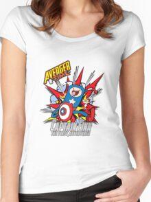 Captain Finn the First Adventurer Women's Fitted Scoop T-Shirt