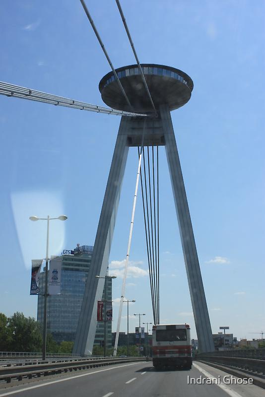 New Bridge, Bratislava by Indrani Ghose
