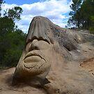 Stone sculpture by MONIGABI
