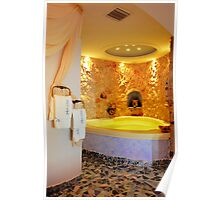 Santorini | Astarte Suites Hotel I cave-style Jacuzzi Poster