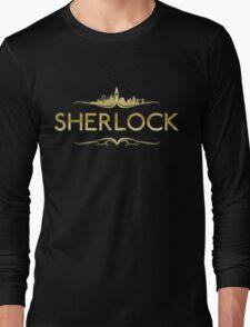 Golden Sherlock Long Sleeve T-Shirt