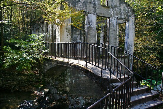 Wilson Carbide Mill Ruins by Brian104