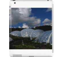 Biospheres, The Eden Project, Cornwall iPad Case/Skin
