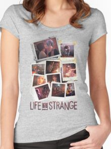 Pictures Women's Fitted Scoop T-Shirt