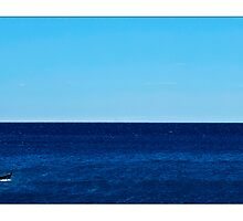 Lonely sailing by Enrico Martinuzzi