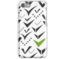 Tick a background iPhone Case/Skin
