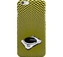 DJ - checkers iPhone Case/Skin