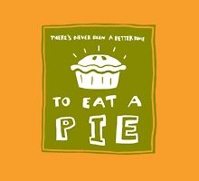 Time to eat a pie (green) Unisex T-Shirt