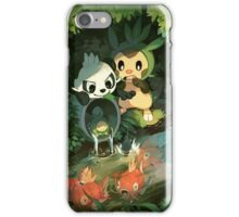 Scaring the fish iPhone Case/Skin