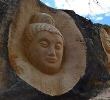 Stone sculptures by MONIGABI