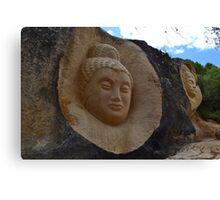 Stone sculptures Canvas Print