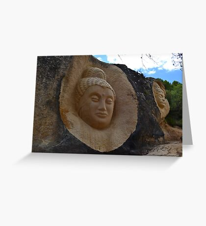 Stone sculptures Greeting Card