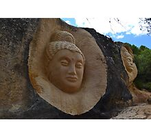 Stone sculptures Photographic Print