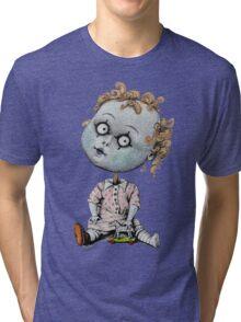 Zombie girl Tri-blend T-Shirt