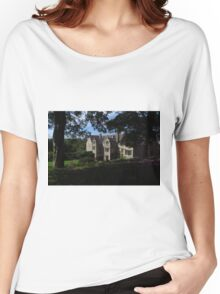 Trerice; Elizabethan Manor House Women's Relaxed Fit T-Shirt