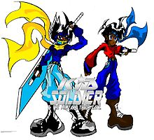 Kid soldier and Kid Strider (2011) by TakeshiUSA