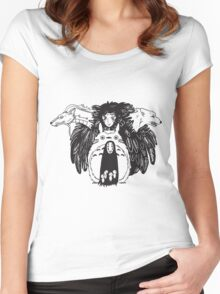 Studio Ghibli Women's Fitted Scoop T-Shirt