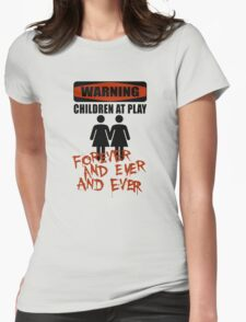 The Overlook Twins Womens Fitted T-Shirt