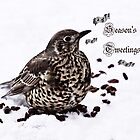 Season's Tweetings by inkedsandra