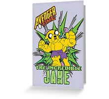 The Incredible Jake Greeting Card