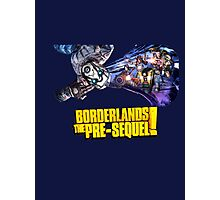 Borderlands the Pre-Sequel: Psycho and Heroes Photographic Print