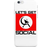 Let's Get Social iPhone Case/Skin
