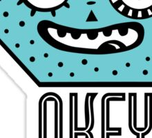Okey Dokey Monster Sticker