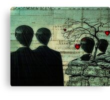 Homage To Magritte Canvas Print