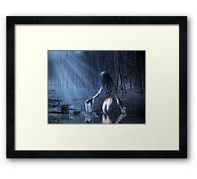 The Siren Framed Print