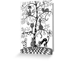 Tree of curiosity Greeting Card