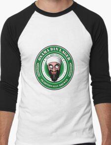 Osama Bin Lager Men's Baseball ¾ T-Shirt