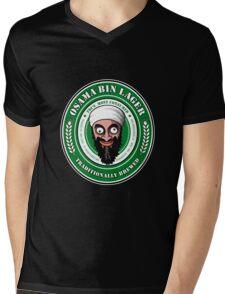 Osama Bin Lager Mens V-Neck T-Shirt