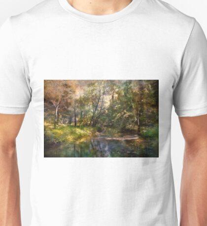 Hopkins Pond, Haddonfield, N.J. Unisex T-Shirt