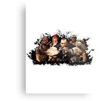 Borderlands Characters Metal Print
