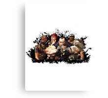 Borderlands Characters Canvas Print