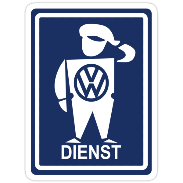 Dienst sticker by axesent