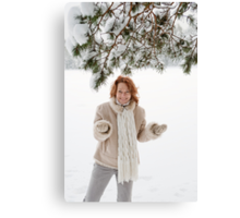 Winters joy Canvas Print